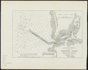 Plan of Barnstable harbor, Barnstable: under Chapter 106, Resolves of 1908