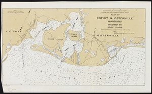 Plan of Cotuit and Osterville Harbors