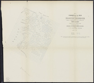 Changes in the bed of Boston harbor from a comparison of the surveys of 1835-61. Sheet 1. Survey of 1835 and 1847