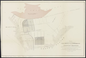 Plan for the occupation of flats owned by the Commonwealth in Boston harbor