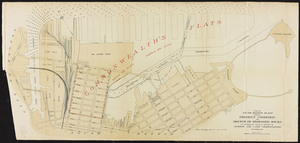 Plan of South Boston Flats: showing present condition and sketch of proposed docks to accompany annual report of Harbor and Land Commissioners, December, 1894