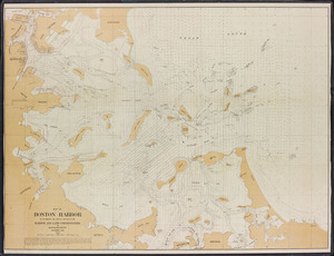 Map of Boston Harbor: to accompany the annual report of the Harbor and Land Commissioners of Massachusetts, December 1895