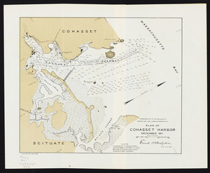 Plan of Cohasset Harbor