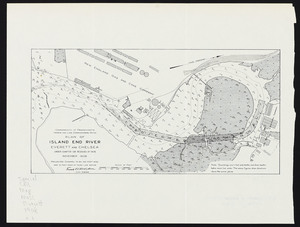 Plan of Island End River, Everett and Chelsea: under Chapter 106, Resolves of 1908