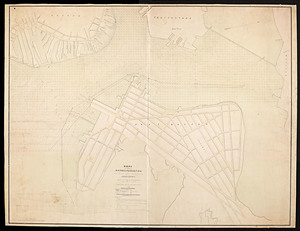 Copy of a plan of the Harbour of Boston [Chelsea Creek]