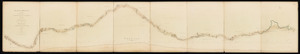 Plan and profile of surveys made under the directions of Nathan Willis, Elihu Hoyt & H.A.S. Dearborn ... to ascertain the practicability of making a canal from Boston Harbor to Connecticut River