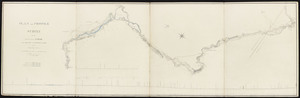 Plan and profile of a survey for the proposed canal from Boston to Connecticut River: section no. 3 from Thompson Corner to Western, Mass.