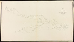 Plan of surveys for a railroad from Boston to Providence and to Taunton