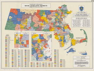 House legislative districts: Commonwealth of Massachusetts, (Chapter 273 of the Acts of 1993)