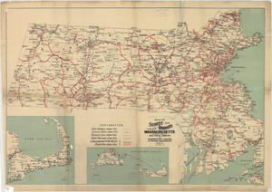 Map of the street railways of the state of Massachusetts: accompanying the report of the Joint Special Committee on the Transportation Facilities of Western Massachusetts