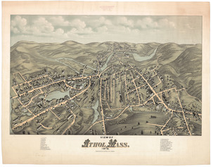 View of Athol, Mass., 1878