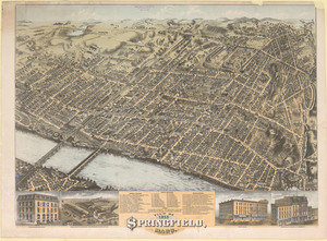 View of Springfield, Mass., 1875
