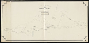 Plan of surveys from the Fitchburg Rail Road to Feltonville.