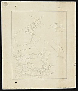 Plan of the Eastern Railroad extension from the Grand Junction R.R. to Boston