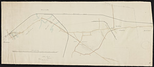 [Plan of Boston and Maine Railroad] / Noble and Gould, engineers.