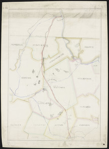 Proposed railroad from Acton to Nashua.