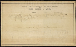 Proposed route and details for a suspension railway from East Boston to Lynn / by Robert H. Eddy, civil engineer.