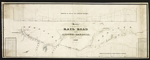 Survey of a route for a railroad from Andover to Haverhill / Joshua Barney, engineer.