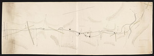 Plan [and profile] of a railroad from Palmer through Monson to Willimantic / [by J.N. Palmer, c.e.]