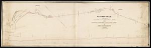 Plan and profile of the Essex Railroad : from North Andover to the state line of New Hampshire.