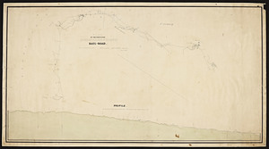 Plan of the proposed Ashburnham-branch rail-road / as surveyed by Joseph H. Walker.