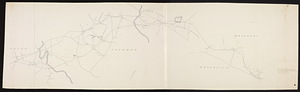 Plan of a rail-road from Brookline through Newton Centre, Newton Upper Falls and Needham to Dover.