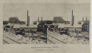 Central shaft, Hoosac Tunnel