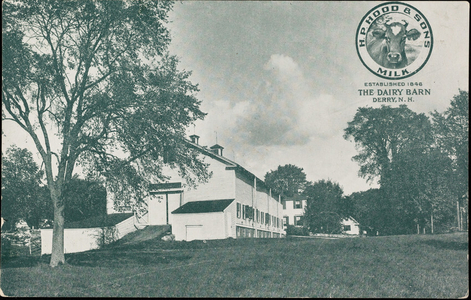 Dairy barn, Derry, New Hampshire