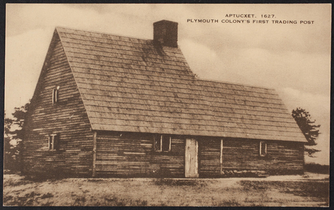 Aptucxet, 1627, Plymouth Colony's first trading post, Bourne, Mass.