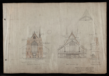 Maginnis and Walsh architectural collection, circa 1898-1932, undated (AR038)