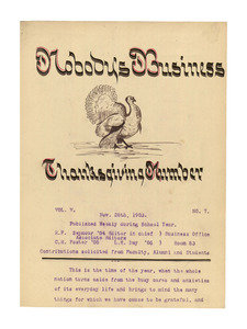 Nobody's Business (vol. 5, no. 7), November 28, 1903