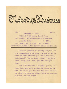 Nobody's Business (vol. 5, no. 8), December 12, 1903