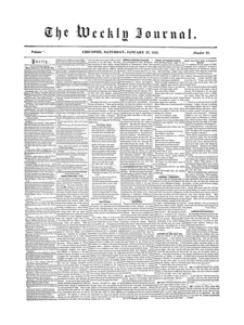 Chicopee Weekly Journal, January 27, 1855