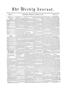 Chicopee Weekly Journal, January 13, 1855
