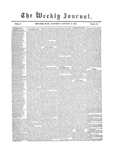 Chicopee Weekly Journal, January 12, 1856