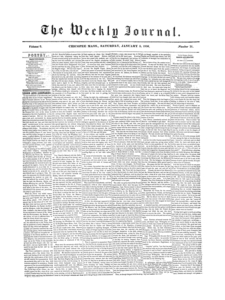 Chicopee Weekly Journal, January 5, 1856