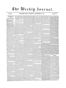 Chicopee Weekly Journal, December 29, 1855