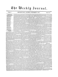 Chicopee Weekly Journal, December 22, 1855