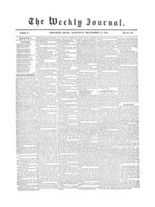 Chicopee Weekly Journal, December 15, 1855