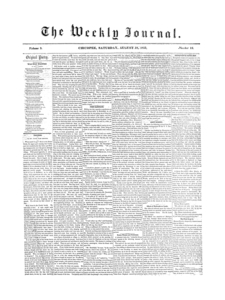 Chicopee Weekly Journal, August 18, 1855