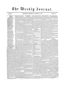 Chicopee Weekly Journal, August 11, 1855