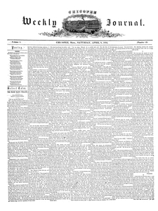 Chicopee Weekly Journal, April 8, 1854