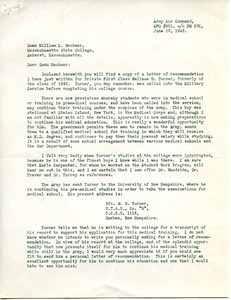 Letter from Donald W. Cadigan to Massachusetts State College