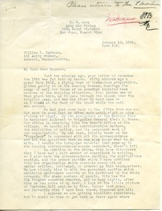 Letter from Donald W. Cadigan to William L. Machmer