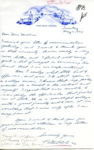Letter from Peter D. Cole to William L. Machmer