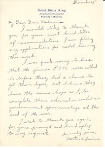 Letter from Morton A. Levine to William L. Machmer