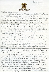 Letter from Robert X. Triggs to the girls in the Massachusetts State College Dean's office