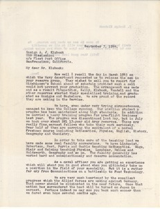 Letter from William L. Machmer to Al Klubock