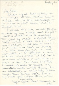Letter from Edward C. Edwards, Jr., to Massachusetts State College