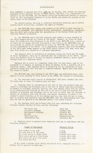 Contract between American Newspaper Guild and United Office and Professional Workers of America Local 16